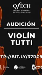 Audición Violín Tutti